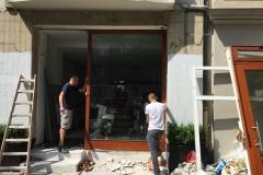 neue Schaufensterfront